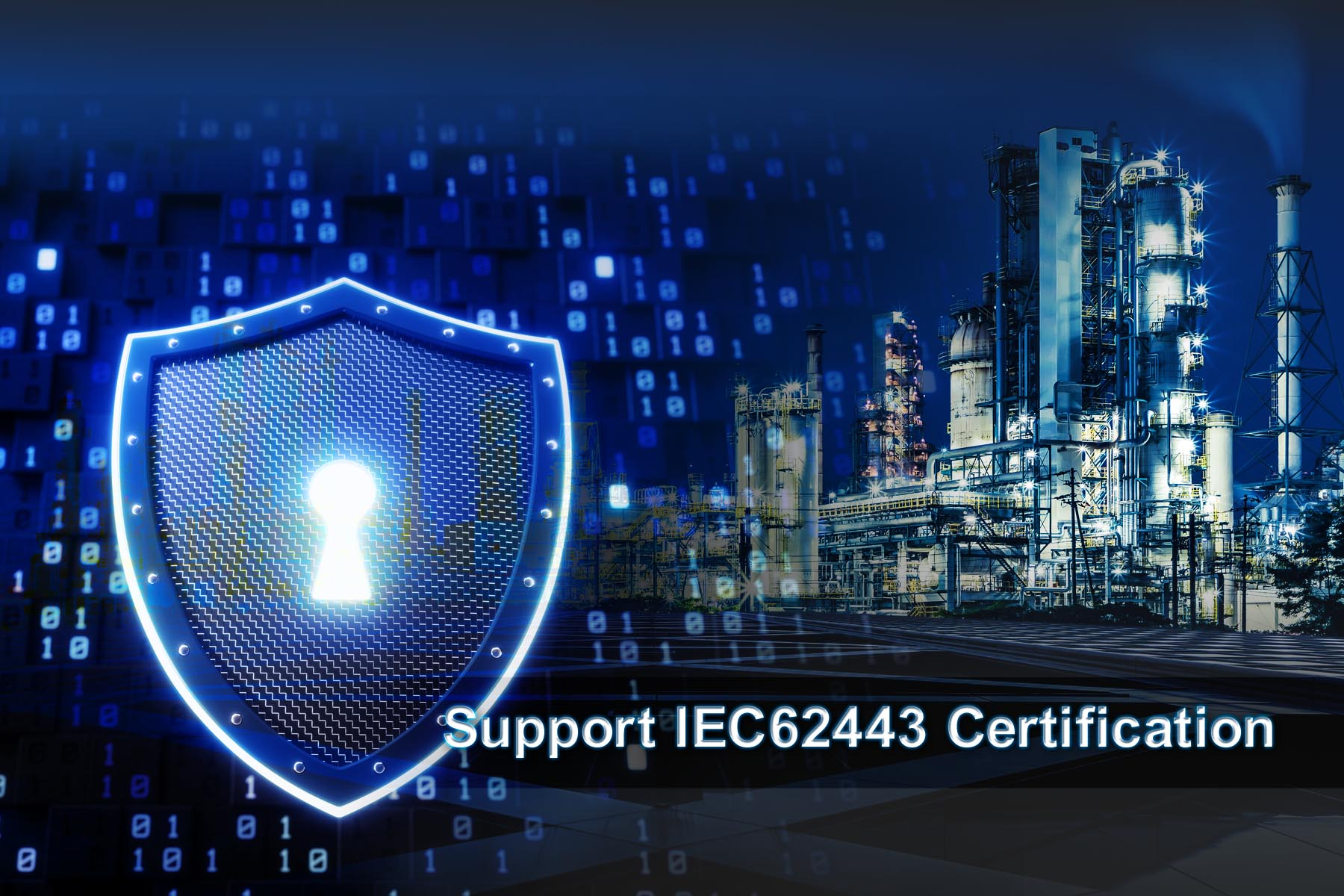 Security Solution Enables Certification Under IEC 62443-4-2